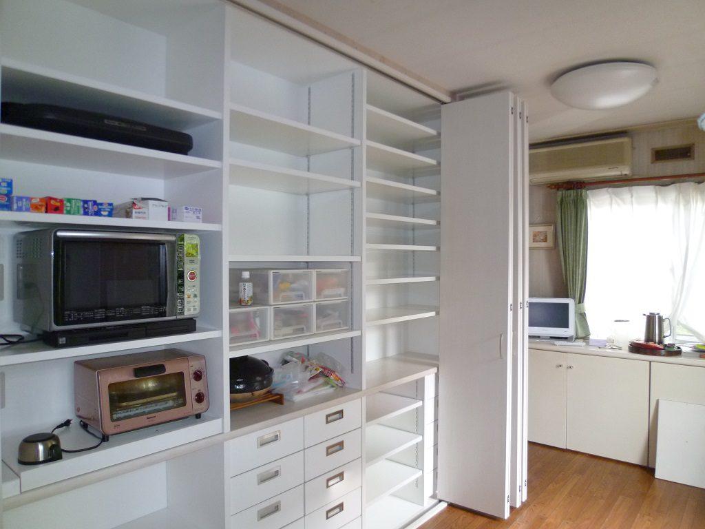 【戸建てリフォーム】安城市 キッチン収納